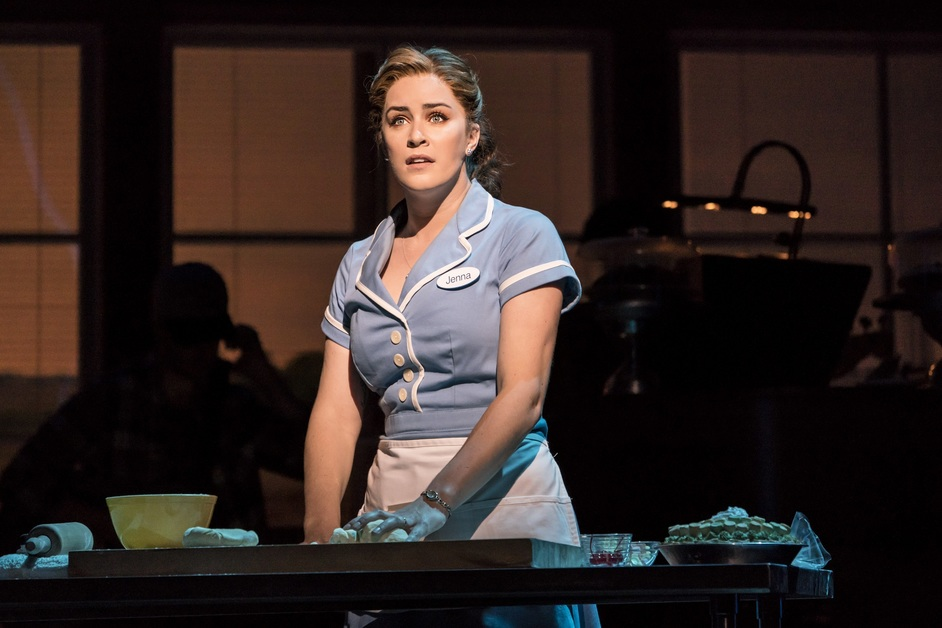 Waitress - Lucie Jones as Jenna, photo: Johan Persson
