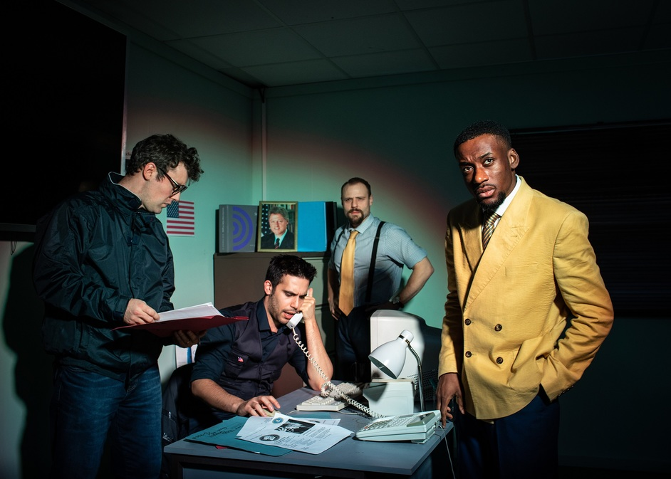 The Wolf of Wall Street: The Immersive Experience - The FBI, photo: Helen Maybanks