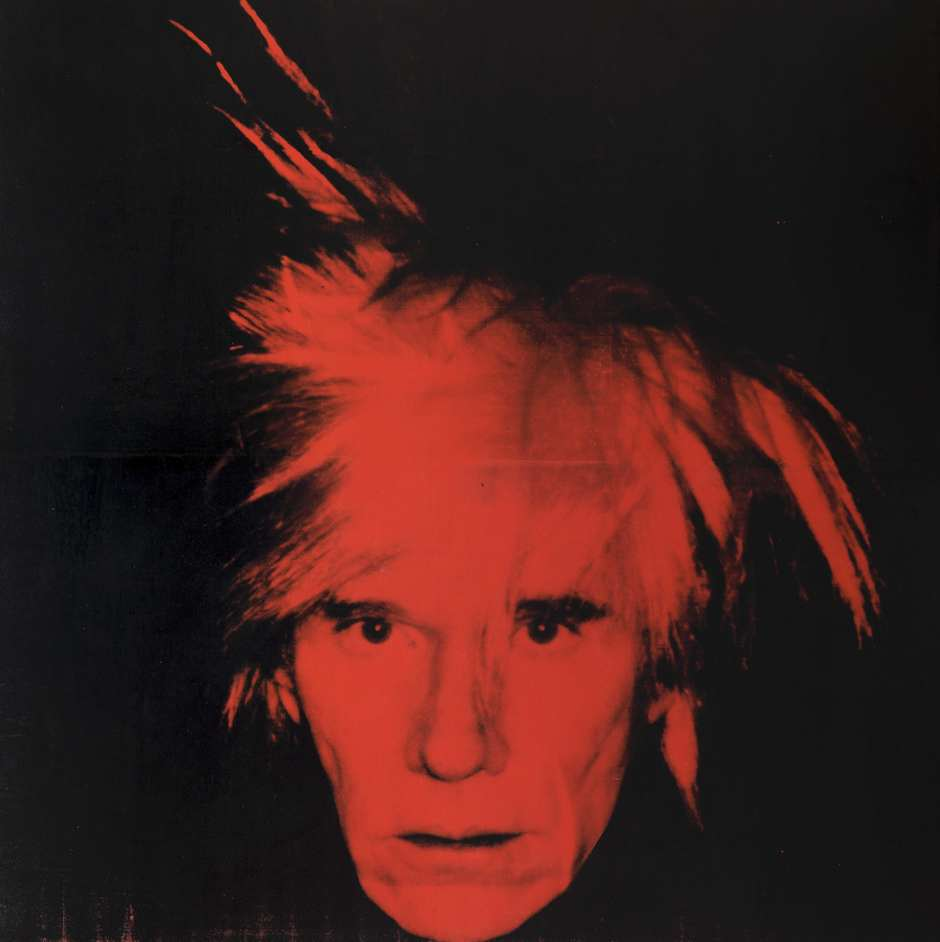 Andy Warhol - Andy Warhol, Self Portrait 1986, Tate © 2019 The Andy Warhol Foundation for the Visual Arts, Inc / Artists Right Society (ARS), New York and DACS, London