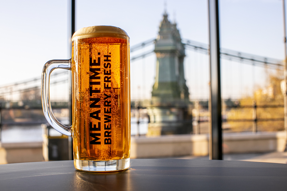Studio 8 Cafe and Bar - Meantime Brewery beer at Studio 8, Riverside Studios. Photo: Hello Content