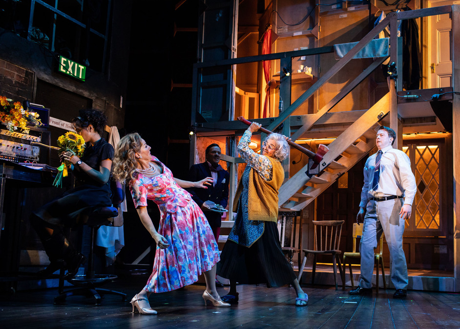 Noises Off - Photo: Helen Maybanks