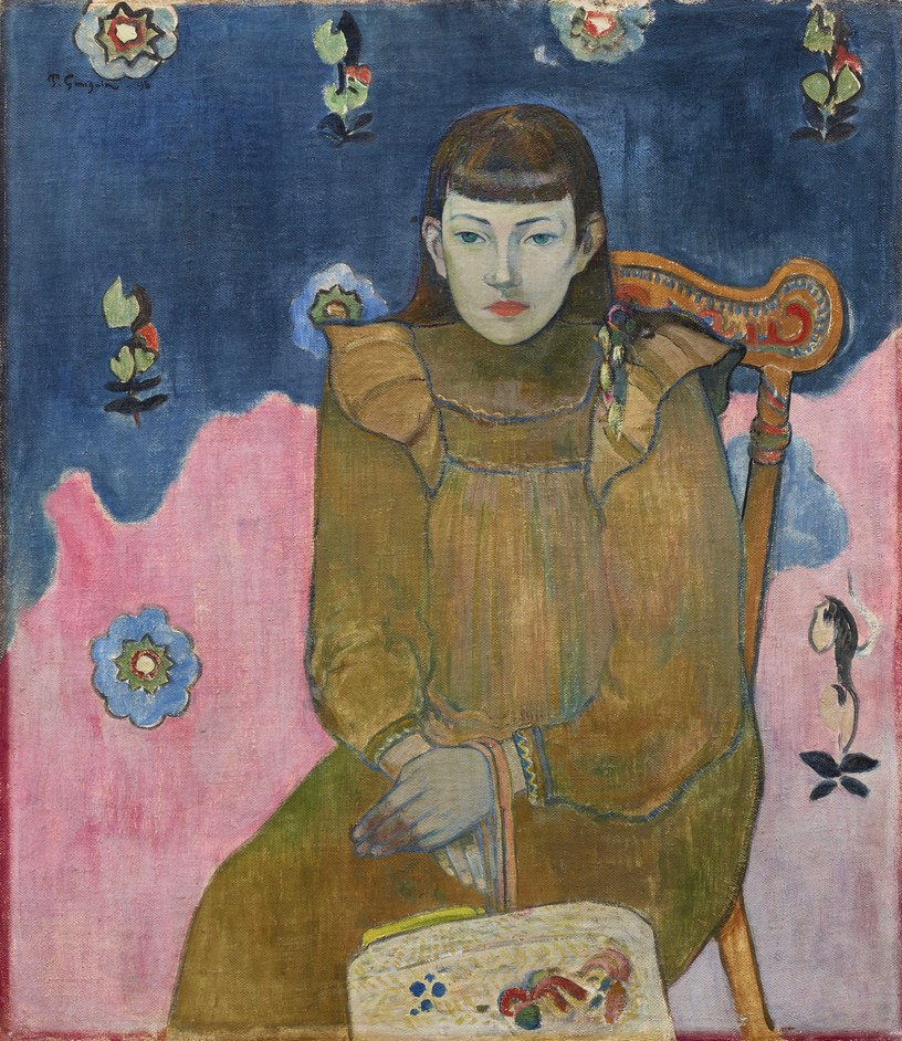 Gauguin and the Impressionists - Paul Gauguin, Portrait of a Young Woman, Vaïte (Jeanne) Goupil, 1896 © Ordrupgaard, Copenhagen. Photo: Anders Sune Berg