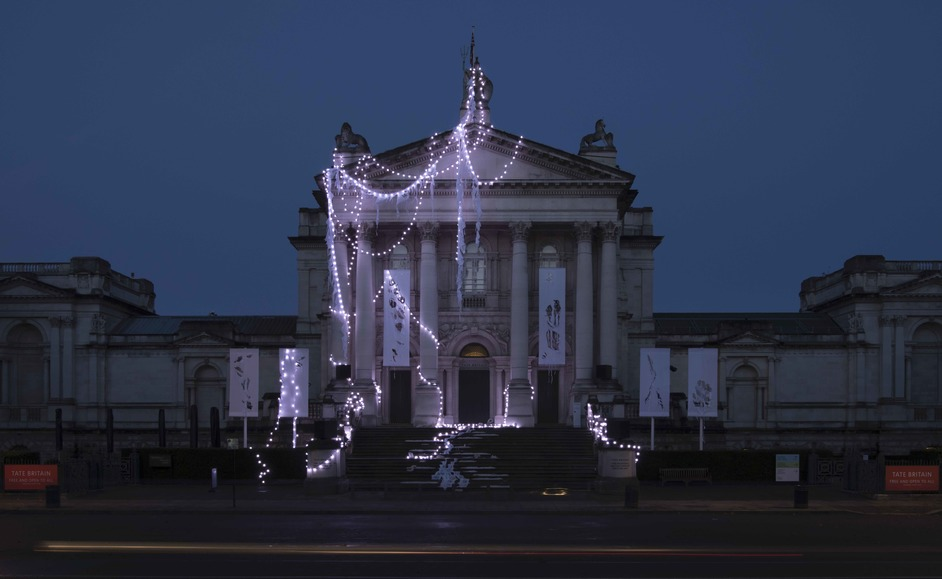 Tate Britain: Winter Commission - Photo © Anne Hardy: Courtesy Maureen Paley, London. Photo © Tate (Oliver Cowling) 2019