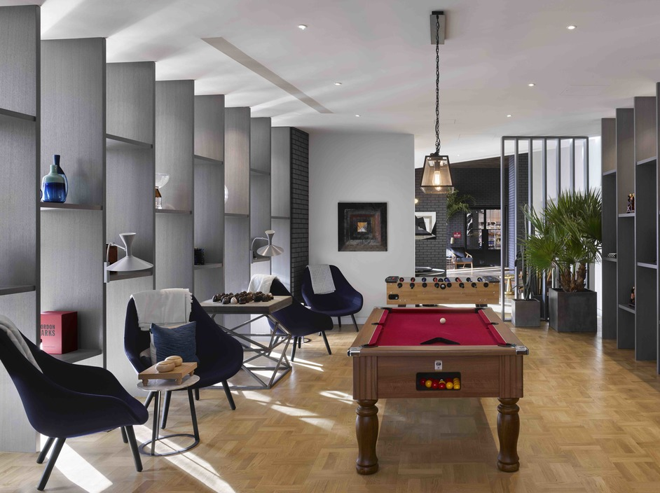 London City Island - Clubhouse for apartments at London City Island