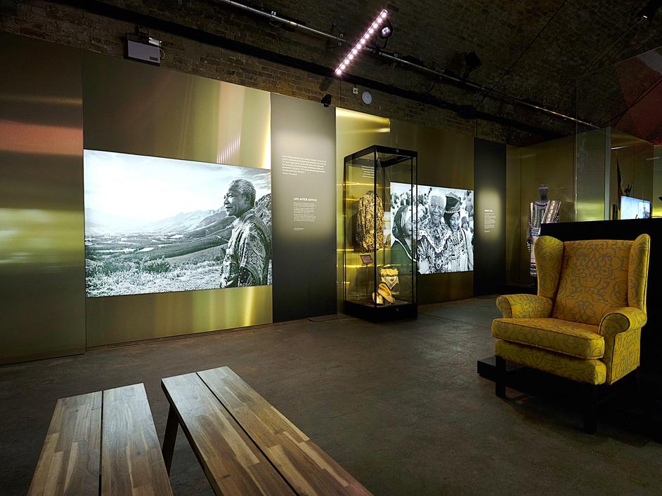 Mandela: The Official Exhibition - Instillation image, photo: Jim Marks
