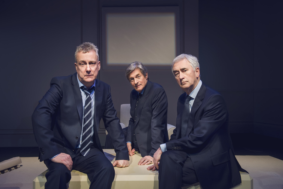 Art - ART - Stephen Tompkinson, Nigel Havers & Denis Lawson, photo: Matt Crockett