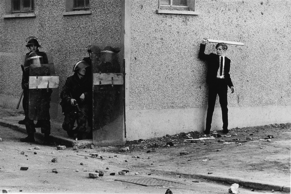Don McCullin - Northern Ireland, The Bogside, Londonderry 1971