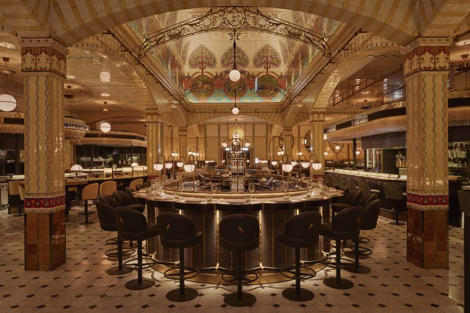 Harrods - The Dining Hall - Wine Bar