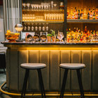 The Hansom Bar, St Pancras Renaissance Hotel hotels title=
