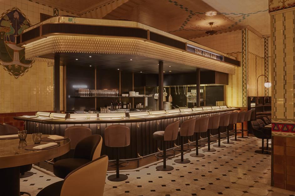 Harrods - The Dining Hall - Fish Bar