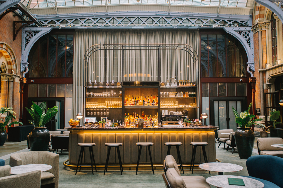 The Hansom Bar, St Pancras Renaissance Hotel