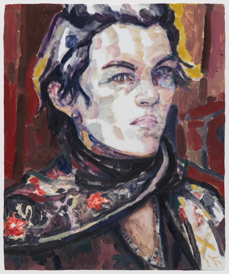 Elizabeth Peyton: Aire and Angels - Portrait at the Opera (Elizabeth) by Elizabeth Peyton 2016 Courtesy The Brant Foundation, Greenwich, CT. USA © Elizabeth Peyton. Courtesy the artist and Gladstone Gallery, New York and Brussels / Photography by EPW Studio, NY