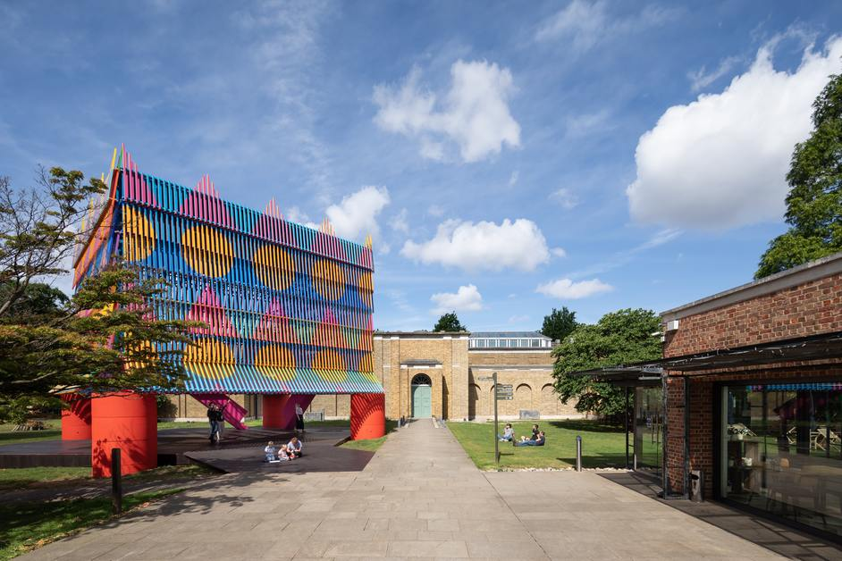 Dulwich Pavilion: The Colour Palace - Dulwich Picture Gallery, The Colour Palace, 2019, photo: Adam Scott