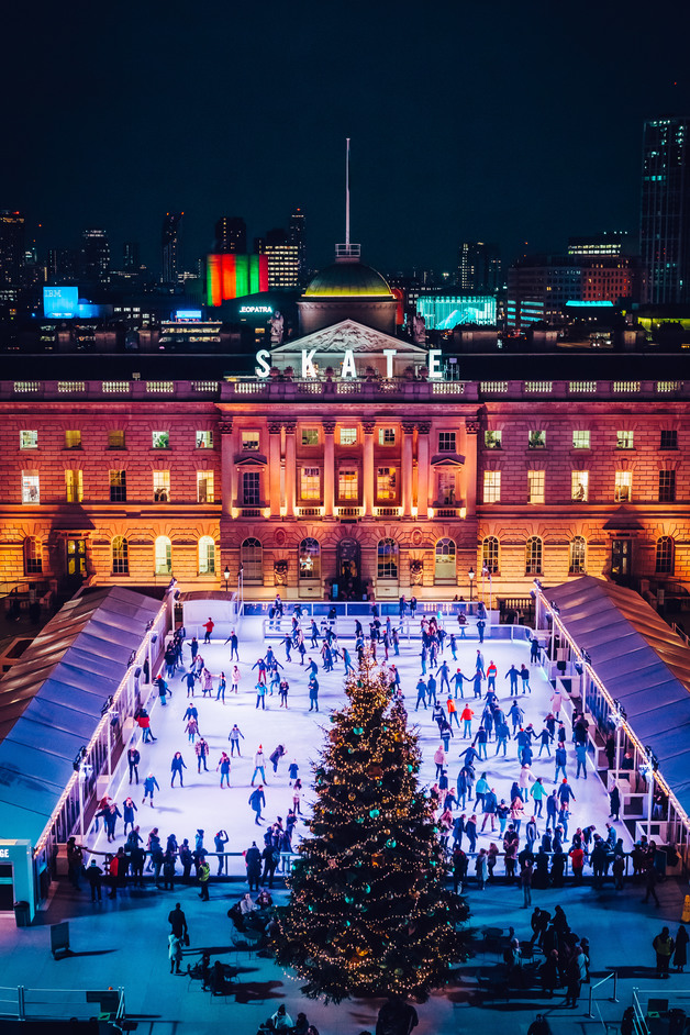 Skate At Somerset House - Skate at Somerset House 2019. Copyright Luke Dyson