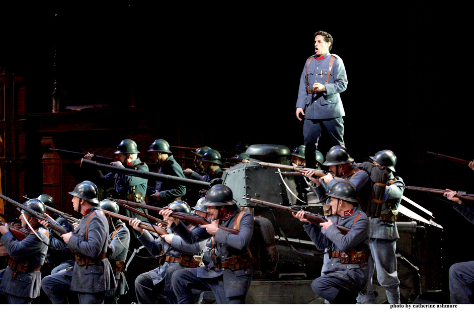 Royal Opera House: La Fille Du Regiment - Royal Opera: La Fille Du Regiment, Juan Diego Florez as Tonio, photo © Catherine Ashmore