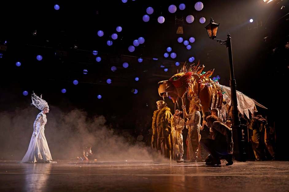 The Lion, the Witch and the Wardrobe - Carla Mendonca (White Witch) and Company. Photo: Brinkhoff Mogenburg