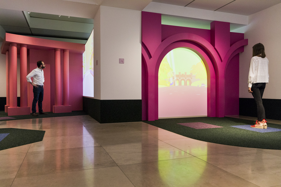 Playing the Picturesque - Playing the Picturesque - an exhibition by You and Pea (c) Tristan Fewings, Getty Images for RIBA