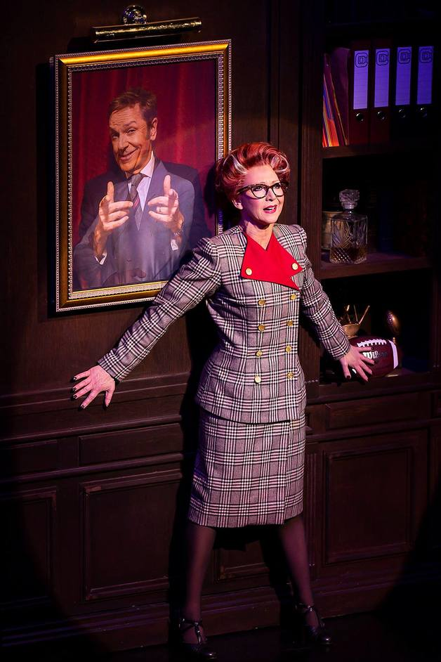 9 To 5 The Musical - Bonnie Langford. Photo: Pamela Raith