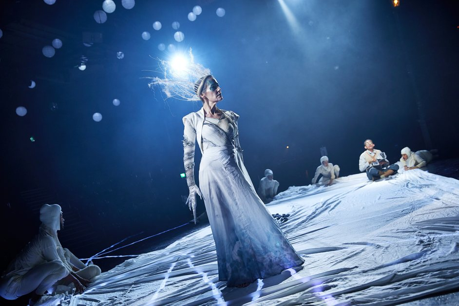 The Lion, the Witch and the Wardrobe - Carla Mendonca (White Witch). Photo: Brinkhoff Mogenburg.