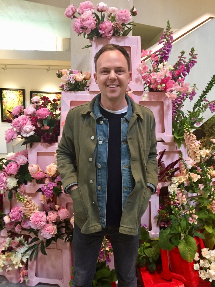 British Flowers Week - British Flowers Week 2019, Graeme Corbett from Bloom and Burn at Garden Museum