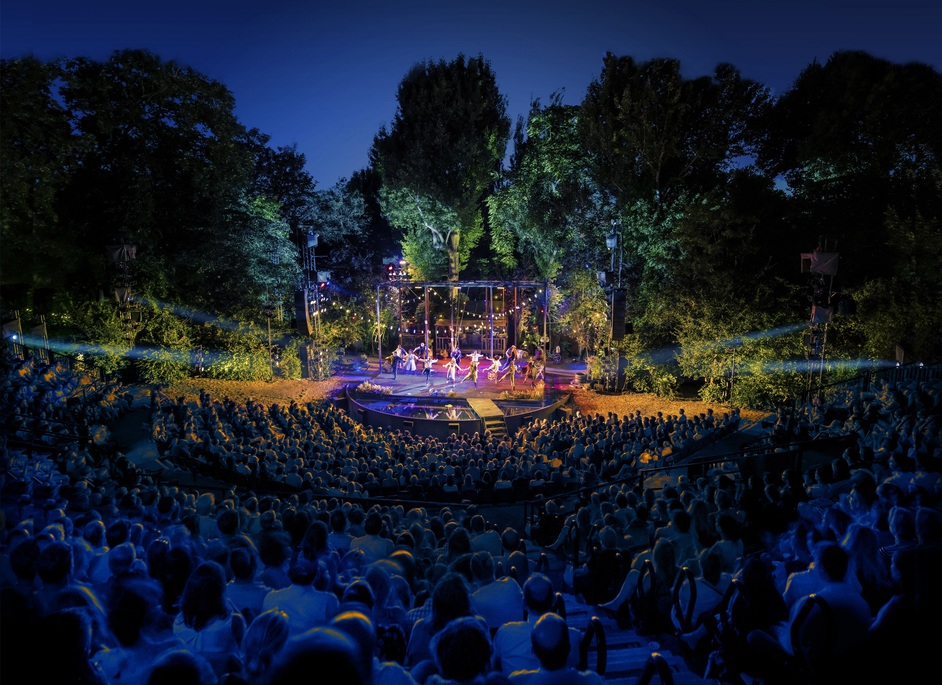 Evita - Regent's Park Open Air Theatre. Photo: David Jensen
