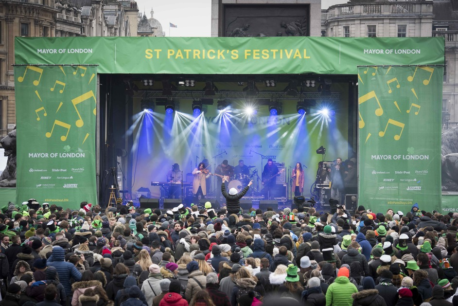 CANCELLED: St Patrick's Day Parade and Festival