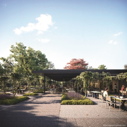 Pavilion Bar and Grill: Kew Gardens