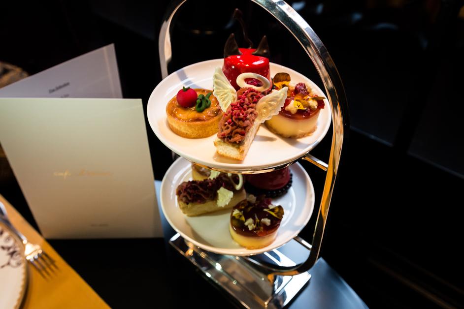 Cafe L'oscar Saint and Sinner Afternoon Tea