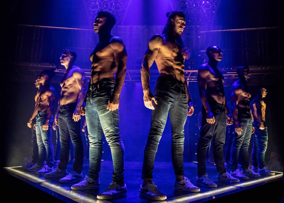 Magic Mike Live - The cast of Magic Mike Live, photo: Trevor Leighton
