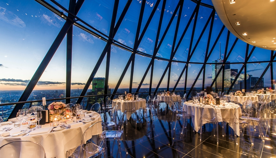 William Curley at The Gherkin
