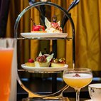 Cafe L'oscar Saint and Sinner Afternoon Tea hotels title=