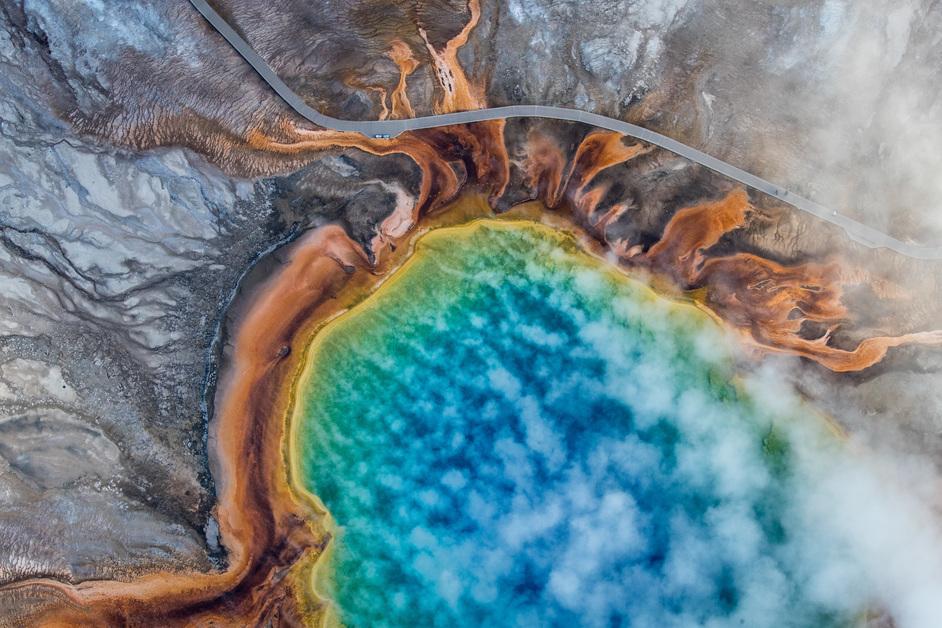 Photo London - Josh Haner Yellowstone National Park, USA, 2018 Josh Haner/The New York Times