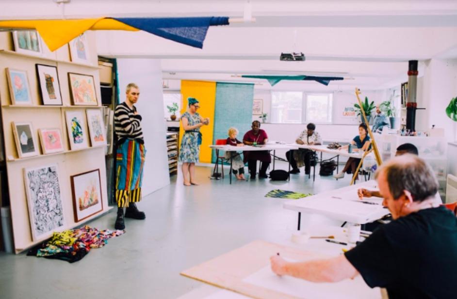 Peckham Levels Open Studio Weekend