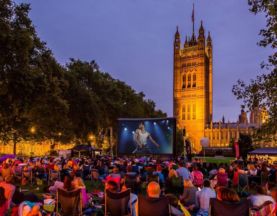 Victoria Tower Gardens - The Luna Cinema, Victoria Tower Gardens, Bohemian Rhapsody