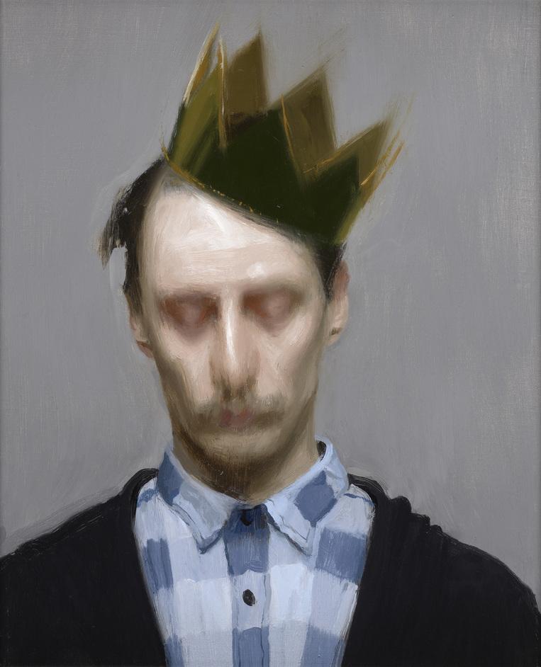 BP Portrait Award 2019 - The Crown by Carl-Martin Sandvold, 2019 © Carl-Martin Sandvold