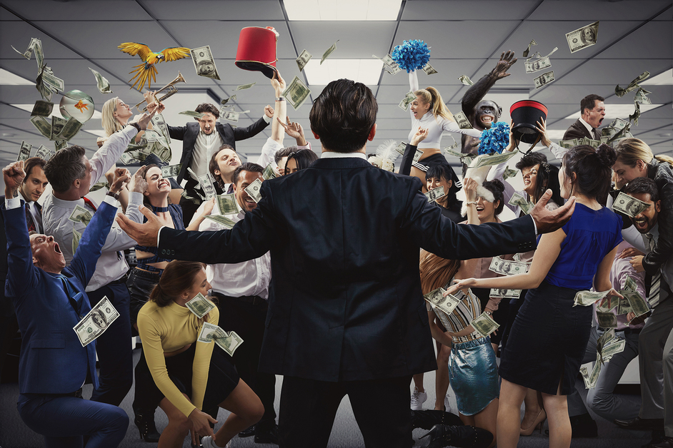 The Wolf of Wall Street: The Immersive Experience - Credit photography by Michael Wharley design by Rebecca Pitt