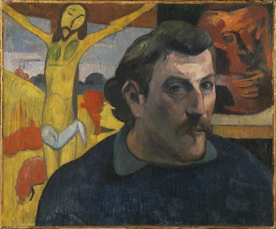 Gauguin Portraits - Paul Gauguin, Self Portrait as Christ, 1890-1891. Musee d'Orsay, Paris © RMN-Grand Palais (musee d'Orsay) / Rene-Gabriel Ojeda