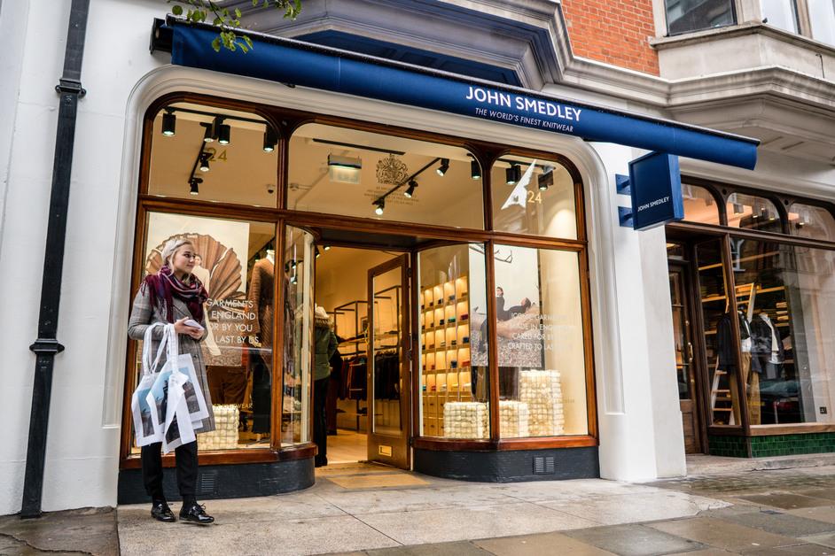 John Smedley New Cavendish Street - John Smedley New Cavendish Street, photo: Jon Payne