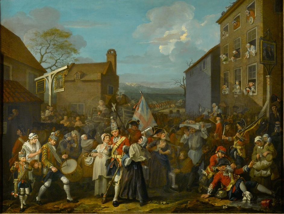 Hogarth & The Art of Noise - William Hogarth, The March of the Guards to Finchley, 1750 © The Foundling Museum
