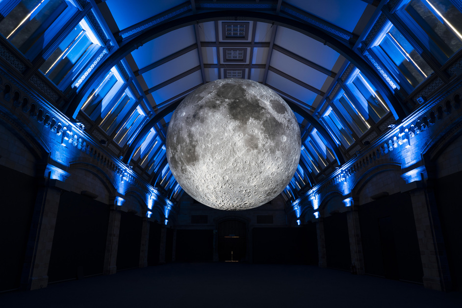Museum of the Moon - photo: Trustees of the Natural History Museum 2019 / Dare & Hier Media
