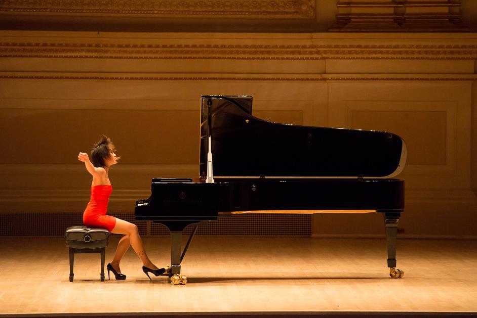 Prom 63: Yuja Wang Plays Rachmaninov - Yuja Wang, photo: Ian Douglas