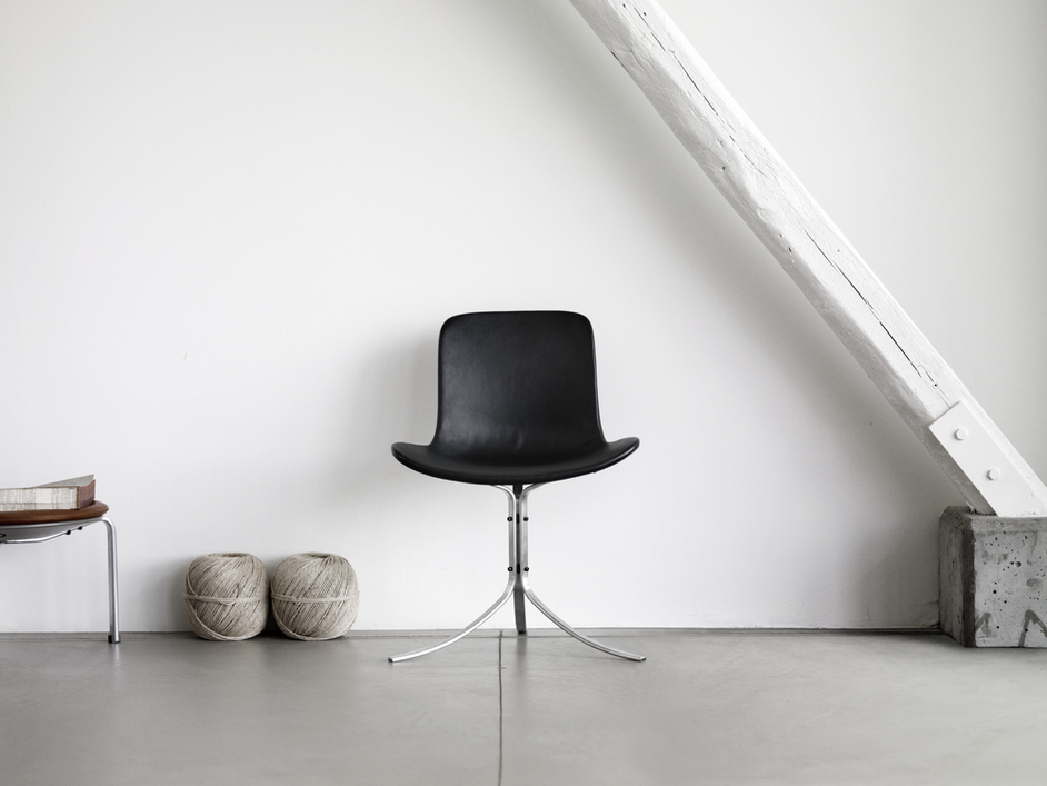 Fritz Hansen: Shaping Reality Through Time - PK9 or 'Tulip chair' by Poul Kjaerholm, Fritz Hansen
