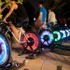 Outdoor Pedal Powered Film Screenings