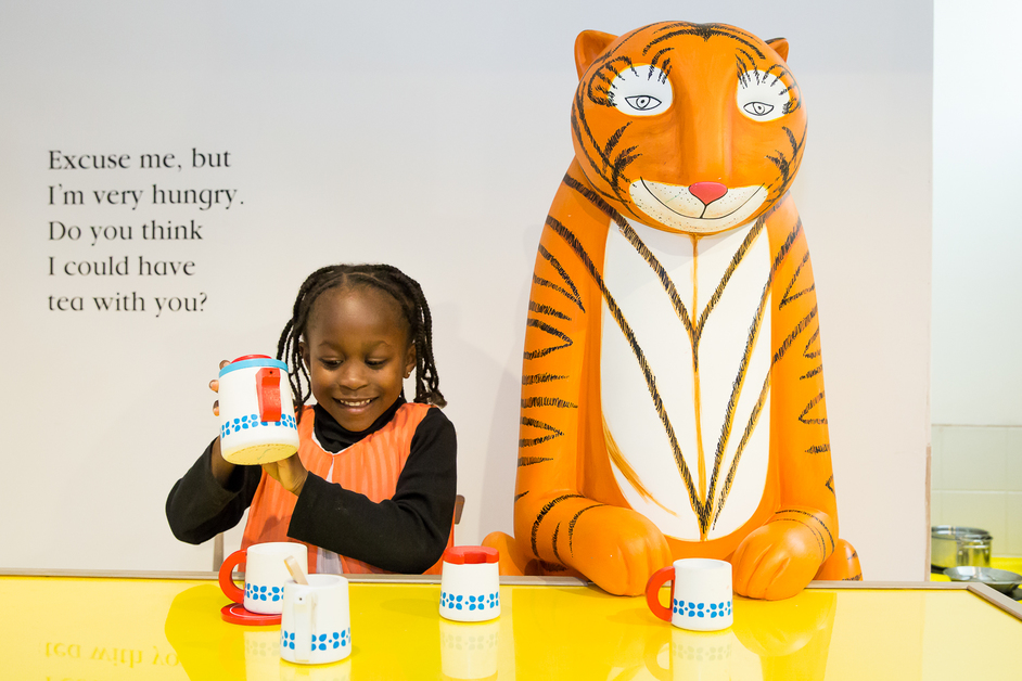 The Tiger Who Came To Tea and The Adventures Of Mog The Forgetful Cat - photo: Sorcha Bridge