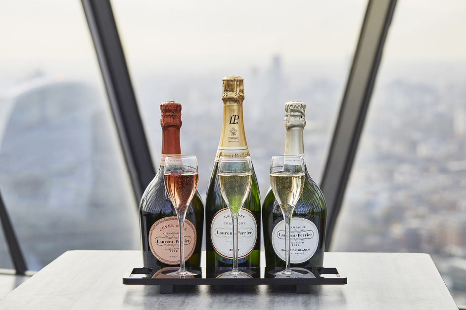 New Year's Eve at The Gherkin