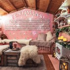 Fentimans Pink Gingerbread House