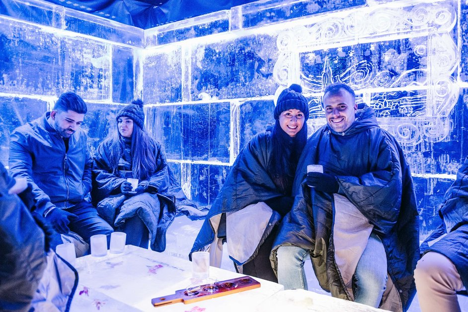 Hyde Park Winter Wonderland - Ice Bar © IMG 2018, Carolina Faruolo / Fanatic