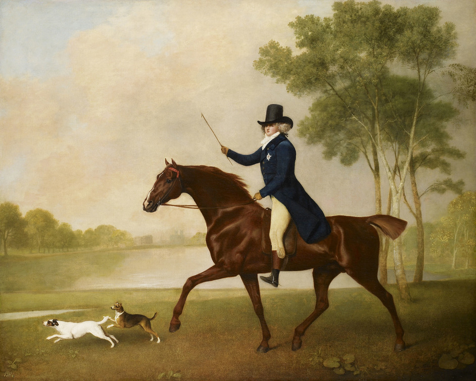 George IV: Art & Spectacle - George Stubbs, George IV (1762-1830) when Prince of Wales, 1791. Photo: Royal Collection Trust / (c) Her Majesty Queen Elizabeth II 2019