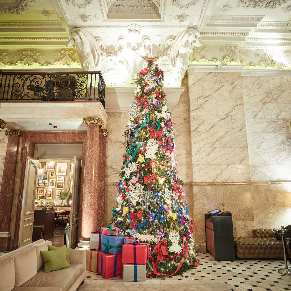 The London Edition's Christmas Tree