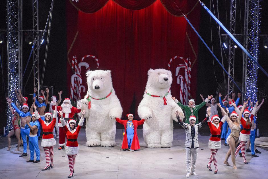Winter Wonderland: Zippos Christmas Circus - Zippo's Christmas Circus at Hyde Park Winter Wonderland 2018. Photo: Piet-Hein Out © IMG 2018